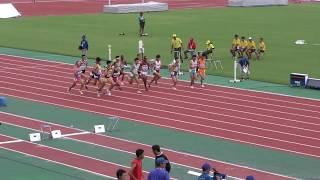 男子3000mSC予選2組 沖縄インターハイR01