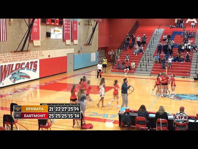 Eastmont vs Ephrata Volleyball 03-31-2021