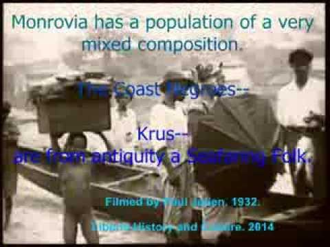 The Krus of Monrovia in 1932.