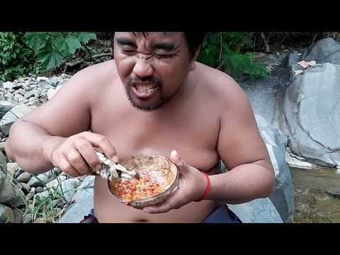 Primitive Technology -  find frog Fried -Fried frog in the clay eating delicious