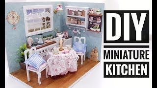 Diy Miniature 'happy Kitchen' Kit '幸福厨房' Diy 迷你場景系列