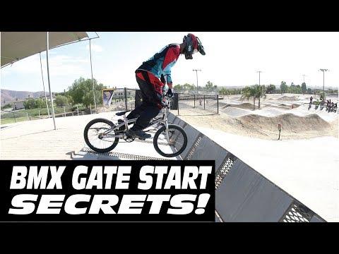 BMX RACING GATE STARTS SECRETS