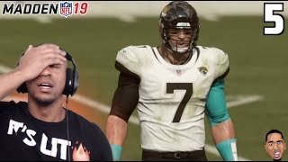 Madden 19 QB Career Mode - OVERTIME IS HELLA STRESSFUL! #5
