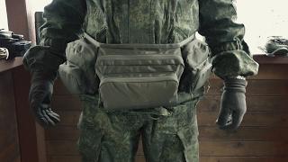 Поясная сумка Solognac для охоты-рыбалки.
