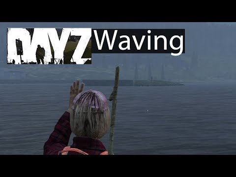 DayZ Xbox One Gameplay Waving Across the Water