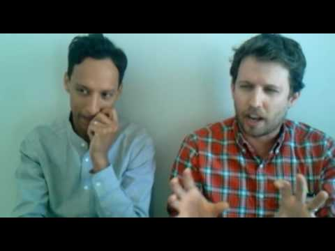 Danny Pudi and Jon Heder