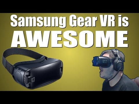 Samsung Gear VR is AWESOME (End Space, Smash Hit, Rilix VR Coaster)