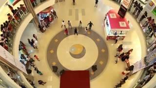 Speedwings Flash Mob at Oberon Mall, Cochin