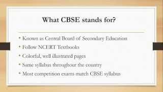 CBSE vs ICSE Syllabus