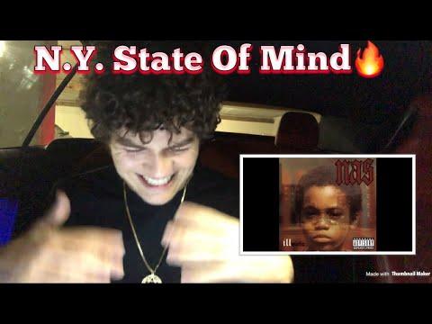 TEENAGER (REACTS) To Nas - N.Y. State Of Mind 🔥