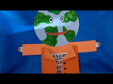 World Environment Day Activity   save environment craft    save earth activity.