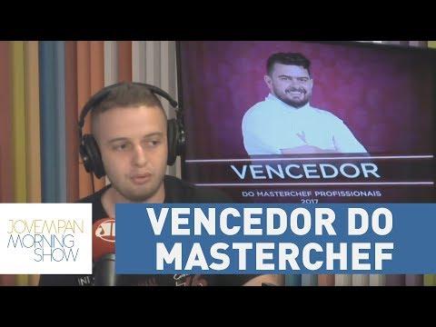 Pablo é O Vencedor Da Segunda Temporada Do MasterChef Profissionais