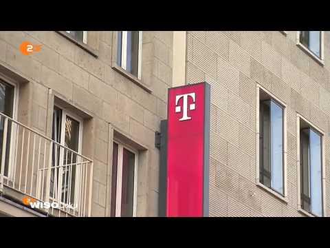 Kein Anschluss unter dieser Nummer - Ärger mit Telekom und Co. - ZDF WISO Dokumentation