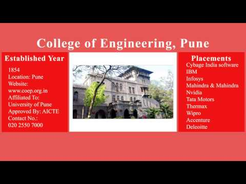 TOP ENGINEERING COLLEGES OF MAHARASHTRA 2016 | COLLEGE CAMPUS AND PLACEMENT