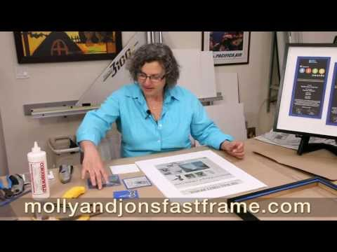 how-to-turn-a-newspaper-article-into-framed-art-work