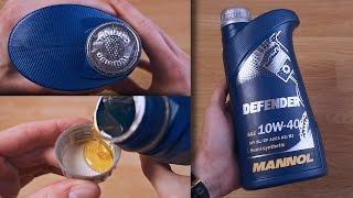 видео Технология STAHLSYNT в моторных маслах MANNOL