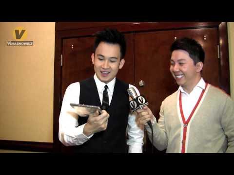 Vinashowbiz:  Interview with singer Duong Trieu Vu