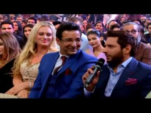 Shahid Afridi Singing Song In Hum Style Awards