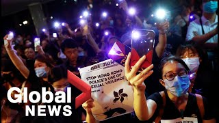 Hong Kong protests: #MeToo rally held against alleged police behaviour