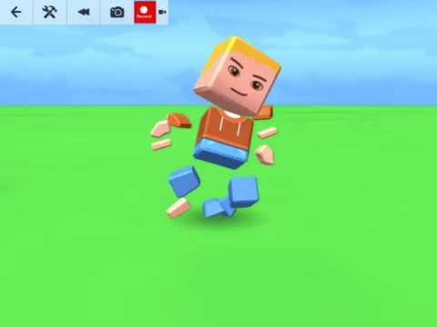 Blocksworld Animated Blockster Simulator