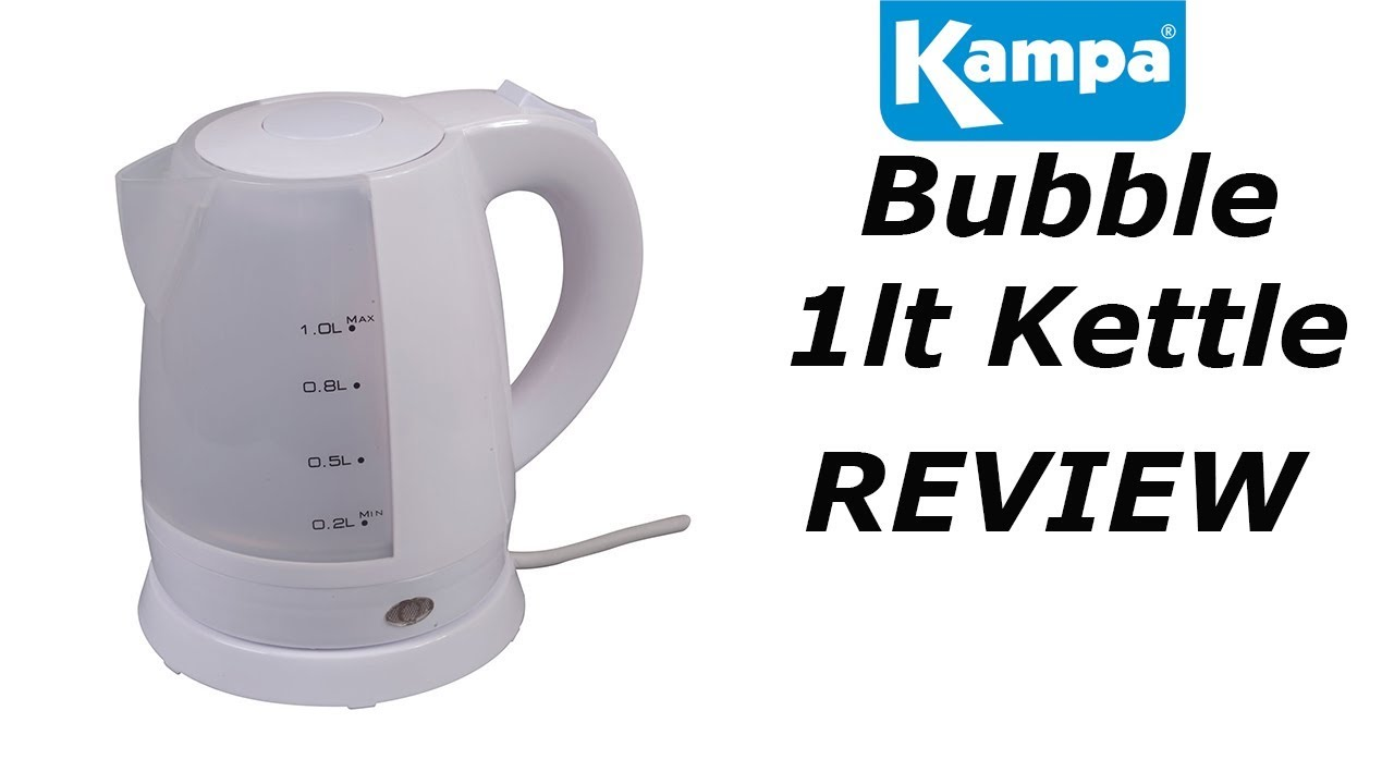 Kampa Bubble 240v Kettle - YouTube