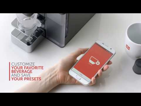 Illy Y5 Espresso & Coffee Machine, Blue Tooth, Amazon Dash Replenishment Enabled