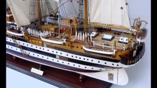 Amerigo Vespucci Wooden Model Ship
