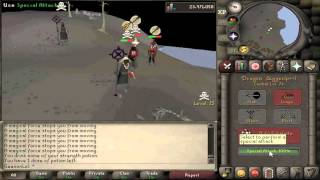 Kids Awakee Pk video #2 ll oldschool runescape ll ultimate hybrid pure ll Pking ll high risk ll