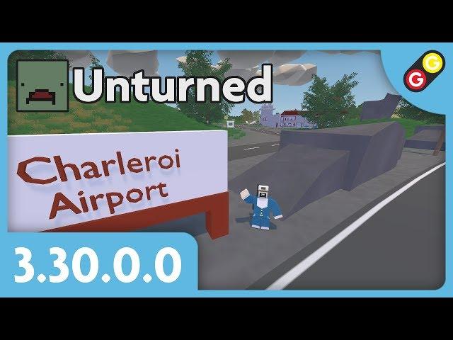 Unturned - Update 3.30.0.0 Map Belgium ! [FR]