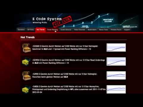 Sportwetten mit System und Strategie MatrixBetBot: Fussballwetten Software Erfahrung von YouTube · HD · Dauer:  1 Minuten 21 Sekunden  · 2000+ Aufrufe · hochgeladen am 02/05/2013 · hochgeladen von SportwettenSystem