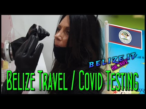 Belize Travel - COVID-19 Testing - Belize City to Caye Caulker & San Pedro
