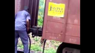 Train Coupling Video - Funny