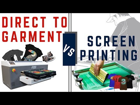 DTG vs Screen Printing (Business Comparison)