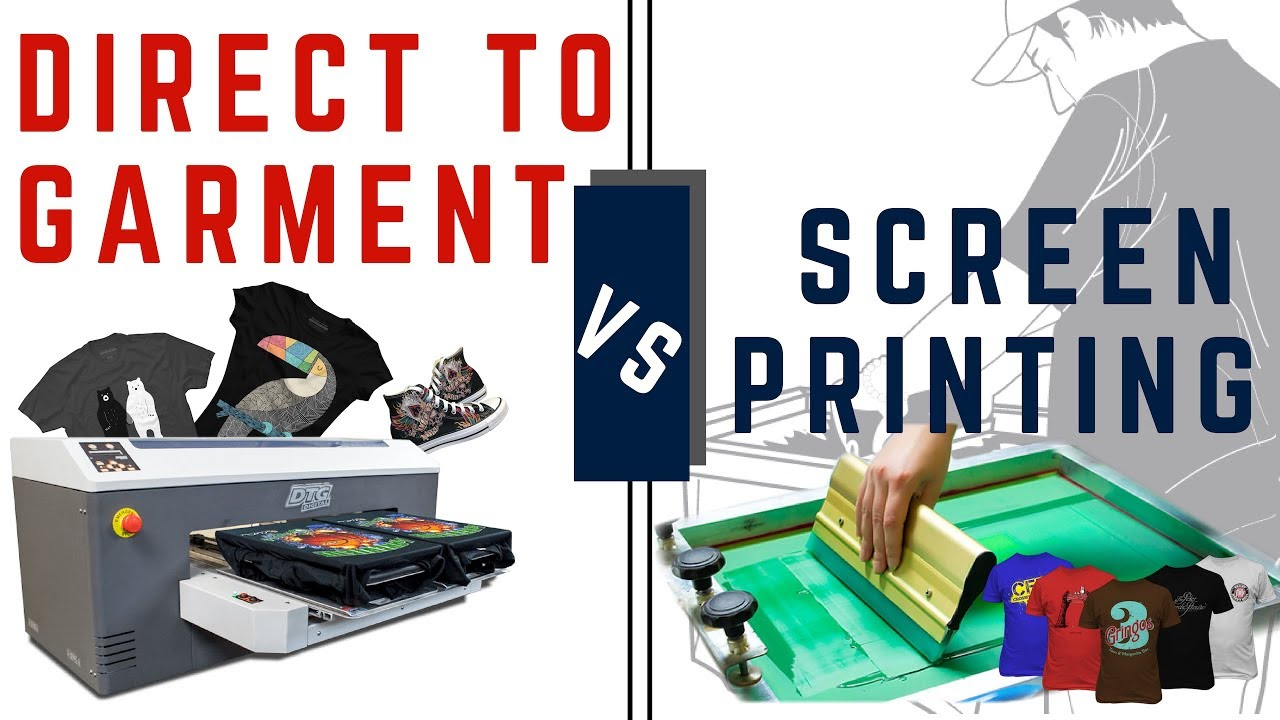 36d4ca62 DTG vs Screen Printing (Business Comparison) - YouTube