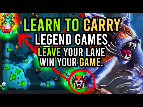 HOW TO CARRY LEGEND GAMES With URSA   Dota 2 Pro Coach Guide