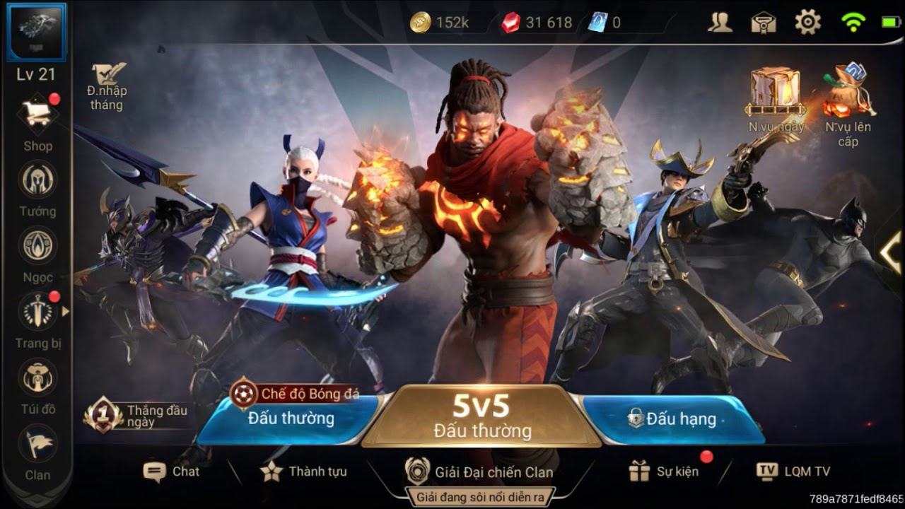 Arena Of Valor – Soundtrack Menu Game Edisi World Cup 2