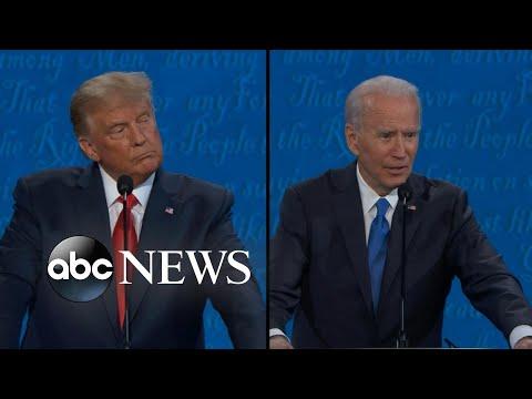 Biden and Trump speak on institutional racism in America