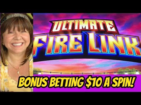 BONUS $10 A SPIN-ULTIMATE FIRE LINK SLOT/POKIES
