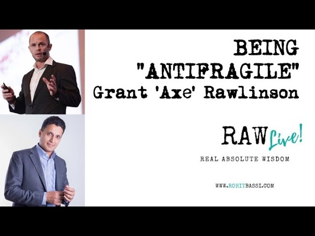 Antifragile interview with RAW