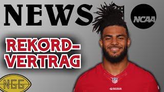 Impfzwang in der NFL und Rekord-Vertrag für Warner? | NFL Newsflash
