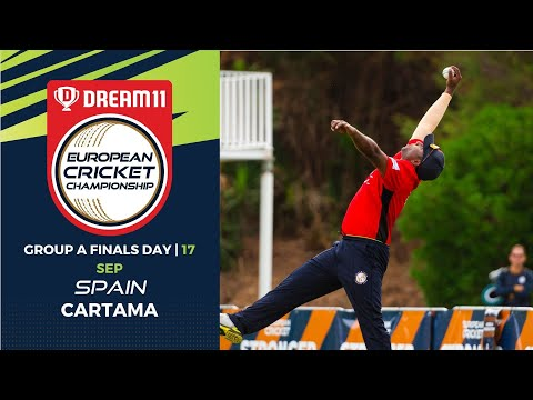🔴 Dream11 European Cricket Championship | Group A Finals Day Cartama Oval Spain | T10 Live Cricket