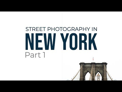 Street Photography In New York (Part 1)
