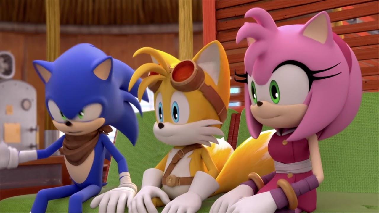 Соник Бум - 1 сезон 36 серия - Мэр Наклз | Sonic Boom - мультик для детей