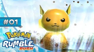 Pokemon Rumble Rush: Blind Playthrough - Episode 1: How Well Does This Rumble?