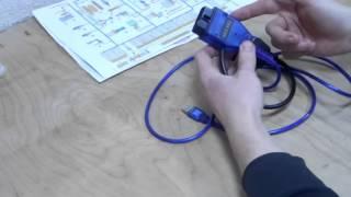 видео Адаптера для диагностики автомобилей своими руками
