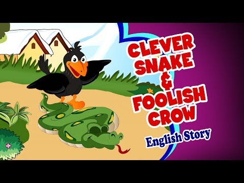 Clever Snake & Foolish Crow - Moral Stories | Story For Kids In