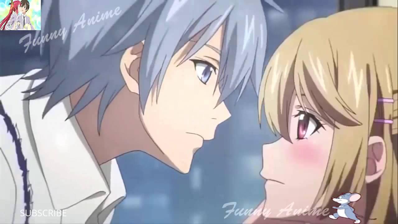 Top Funny Anime Kiss Scenes