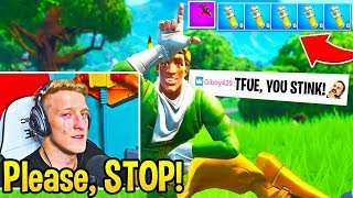 Tfue *FREAKS OUT* after this STREAM SNIPER takes things TOO FAR...