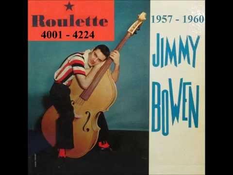 Jimmy Bowen - Roulette Records - 1957 - 1960