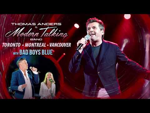 Thomas Anders 2019 Canada Tour With Bad Boys Blue - Promo 1